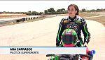 La pilot Ana Carrasco entrena a Mallorca