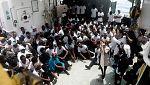 El Aquarius trasladará hasta Valencia a 629 migrantes con ayuda de dos buques italianos