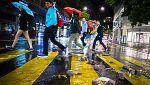 Lluvias persistentes desde el País Vasco hasta Pirineos