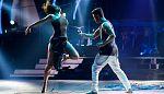 """Bailando con las estrellas - Pelayo Díaz e Inés bailan """"Elastic heart"""""""