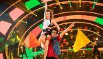 """Bailando con las estrellas - Pablo Ibáñez y Sara bailan """"La Gozadera"""""""