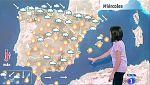 Este miércoles habrá fuertes lluvias en Pirineos y Girona y viento en el Cantábrico
