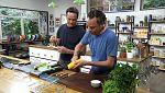 Torres en la cocina - Lasaña de verduras y lubina con gambas