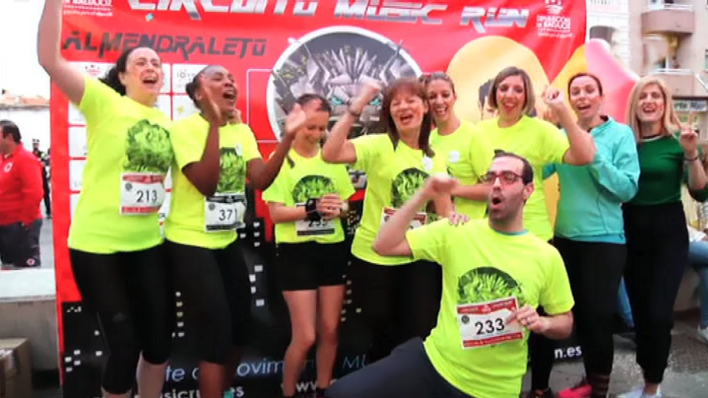 Circuito Night Run : Circuito music run españa mr night run almendralejo rtve