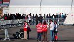 Más de 2.000 personas dan asistencia a los 630 migrantes del Aquarius