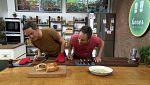 Torres en la cocina - Gazpacho verde y calzone de carne