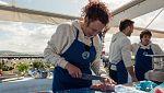 MasterChef 6 - Victor y Oxana no se entienden en el cocinado