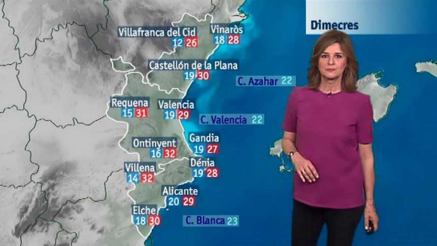 El tiempo en la Comunidad Valenciana - 19/06/18