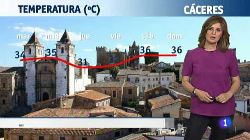 El tiempo en Extremadura - 19/06/18