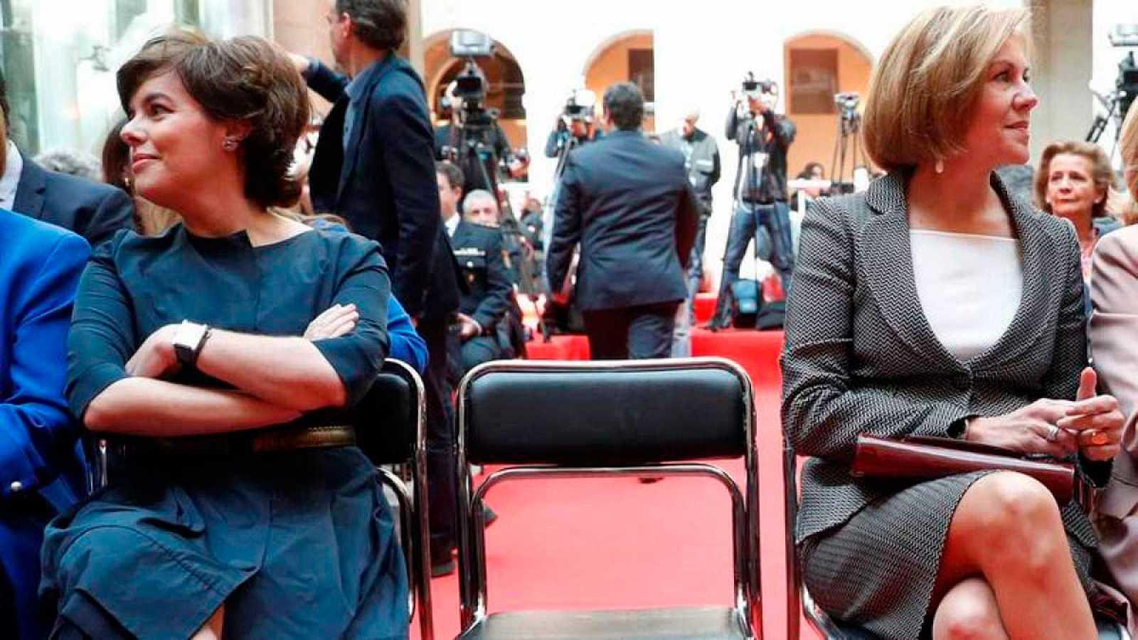 Sáenz de Santamaría y Cospedal batallarán por el liderazgo del PP en el Congreso Extraordinario