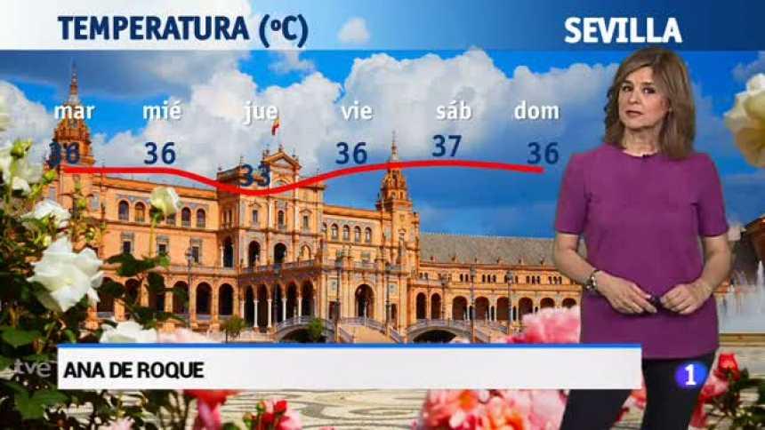 El tiempo en Andalucía - 19/06/18