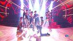 """Bailando con las estrellas - Ballet de 'Bailando con las estrellas' baila """"Sparkling diamonds"""""""