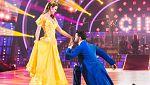 """Bailando con las estrellas - Amelia y Rubén Rodríguez bailan """"Bella y bestia son"""""""