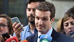 """Casado: """"Somos la única candidatura que garantiza que el PP no se rompa"""""""