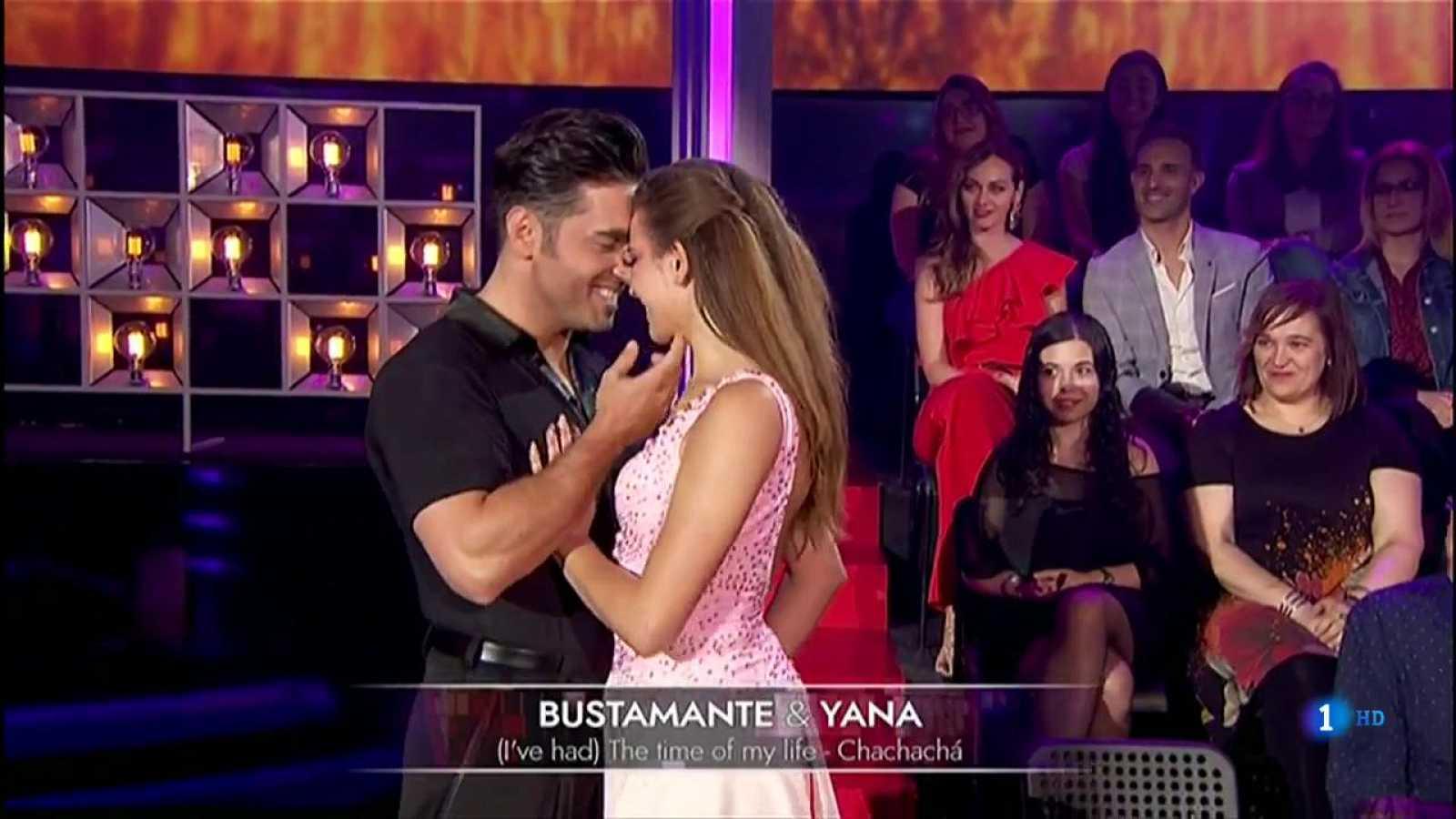 Corazón David Bustamante Y Yana Olina Interpretaron Un Chachachá De Cine