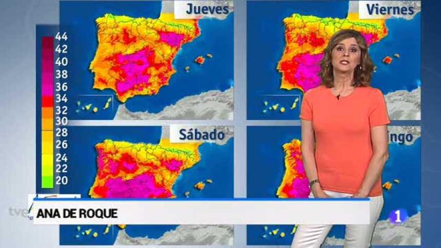 El tiempo en Andalucía - 20/06/18