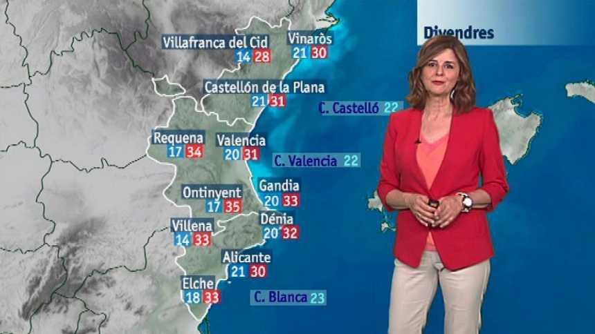 El tiempo en la Comunidad Valenciana - 21/06/18