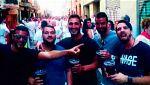 Libertad provisional bajo fianza de 6.000 euros para los cinco condenados de 'La Manada'