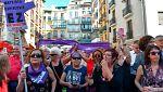 Indignación en las calles por la libertad provisional para los cinco condenados de 'La Manada'