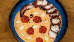 Torres en la cocina - Ajoblanco con pulpo a la brasa