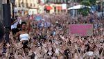 """Clamor contra la """"justicia patriarcal"""" tras la puesta en libertad de 'La Manada'"""