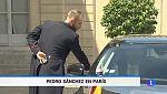 Pedro Sánchez se reúne con Emmanuel Macron en París