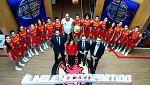 La FEB recibe a las jugadoras de Lucas Mondelo de cara al Mundial