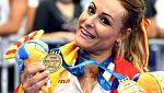 Lydia Valentín, oro en la prueba de dos tiempos