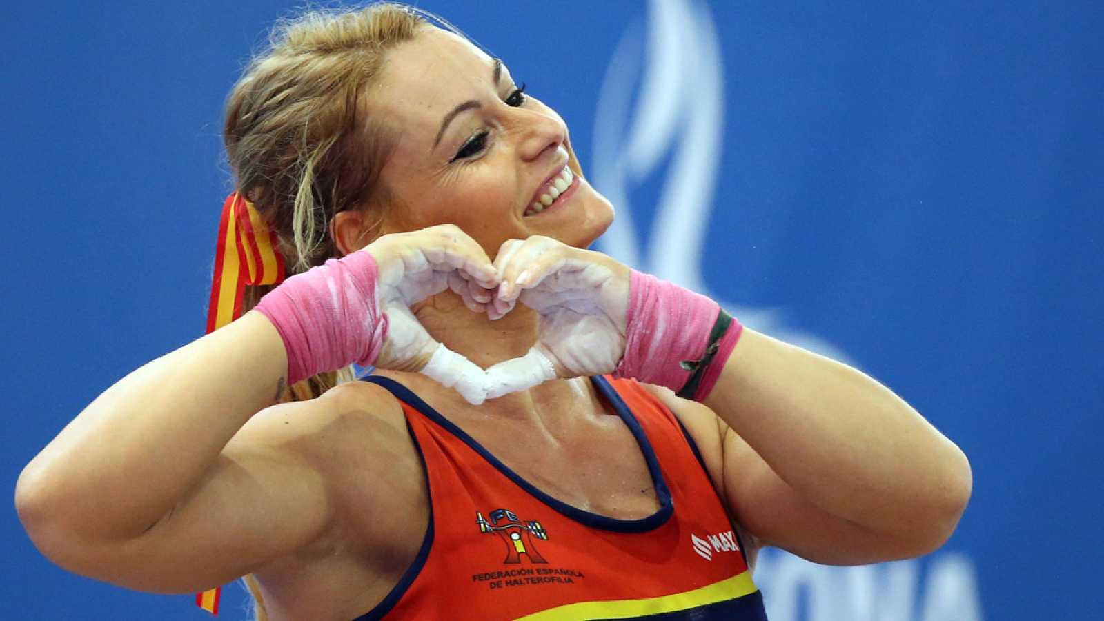 Resultado de imagen de Lydia Valentín logra dos oros en Tarragona