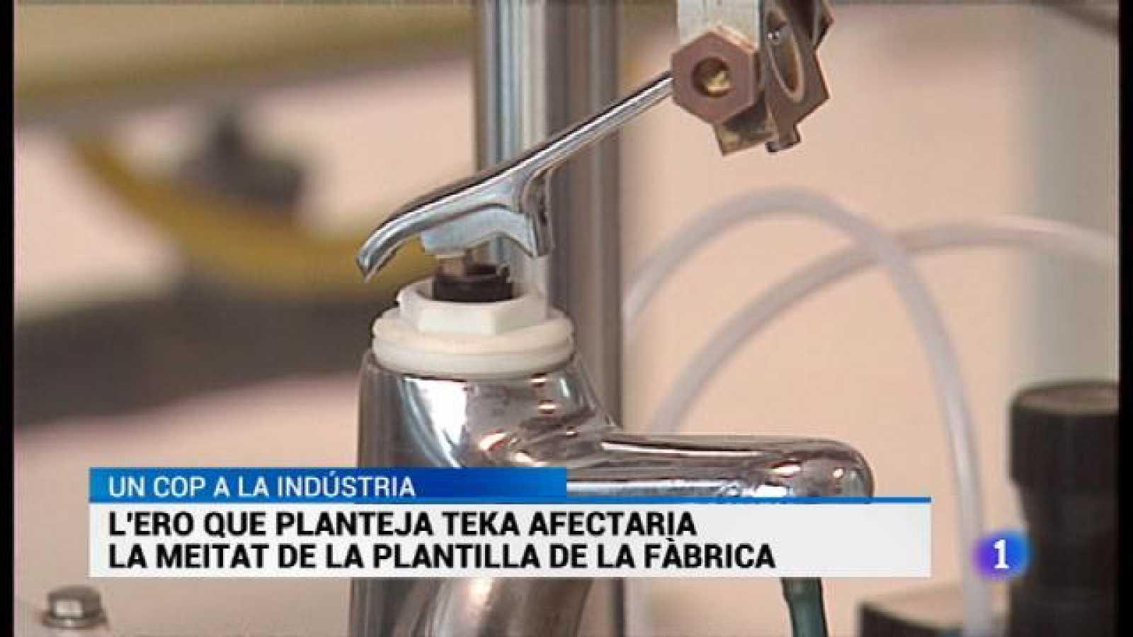 L\'ERO de Teka afectarà la meitat de la plantilla. - RTVE.es