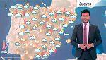 Este jueves las tormentas ganan presencia y las temperaturas bajan