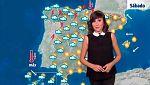 Lluvias y tormentas en el norte peninsular y el alto Ebro
