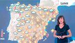 Lunes de lluvia en Galicia y Cantábrico y tiempo estable en el resto del país
