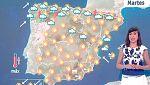 Este martes suben las temperaturas y continúan las tormenta en Galicia, el Cantábrico y Navarra