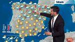Chubascos y tormentas localmente fuertes en el norte y oeste peninsular