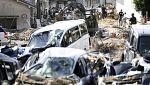 Ascienden a 156 las víctimas por las inundaciones en Japón