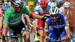 Tour 2018. Gaviria le gana el sprint a Sagan en otra jornada accidentada