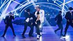"""Bailando con las estrellas - Musical Michael Jackson baila """"Smooth criminal"""""""