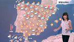 Tormentas en toda la mitad norte y bajada de temperaturas