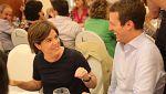 Casado y Santamaría coinciden en una cena en plena batalla por el liderazgo del PP