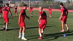 Els jugadors del Mallorca passen la revisió mèdica