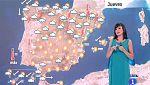 Este jueves habrá precipitaciones y tormentas en el norte peninsular