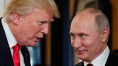 Trump y Putin celebran en Helsinki su primer encuentro formal