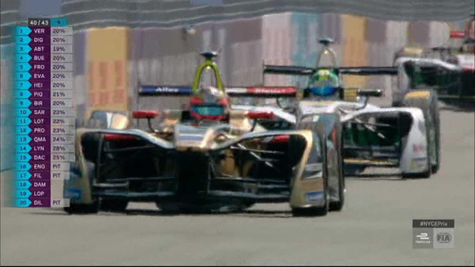 Automovilismo - Campeonato FIA Fórmula E. Prueba Nueva York (EE.UU ...
