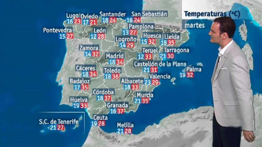 El tiempo en la Comunidad Valenciana - 16/07/18