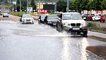 Chubascos y tormentas localmente fuertes en el Cantábrico oriental y Cataluña
