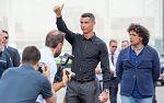 """Cristiano, en su presentación con la Juventus: """"No es un paso atrás"""""""