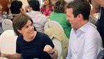 """Santamaría y Casado mantienen una reunión """"cordial"""" pero sin avances sobre una lista única"""