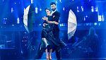 """Bailando con las estrellas - Manu Sánchez y Mireya bailan """"Umbrella"""""""