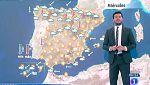 Este miércoles habrá lluvias en el Alto Ebro y Pirineos y ascenso de temperaturas en interior